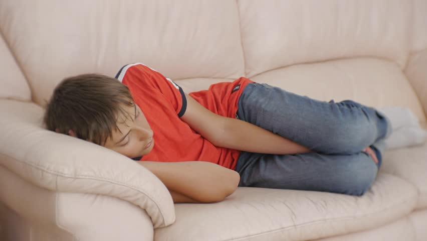 Teens sleeping in jeans wet