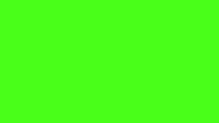 A clean digital green screen with random glitch blocks. Overlay to your footage for a buggy code effect.