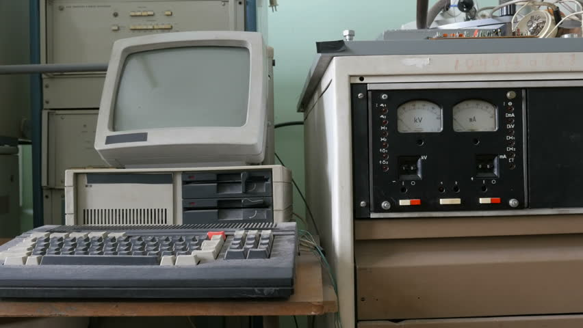Old-style computer    Shutterstock HD Video #1012025573