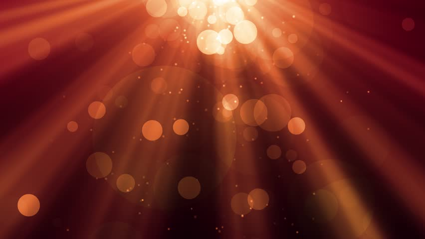 Abstract bokeh Particles with shining light rays background animation suited for broadcast, commercials and presentations. | Shutterstock HD Video #1012517243