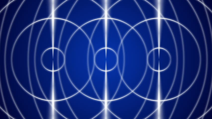 Abstract blue loop motion background with cross lines | Shutterstock HD Video #10125173