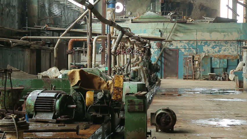 Paper mill in operation