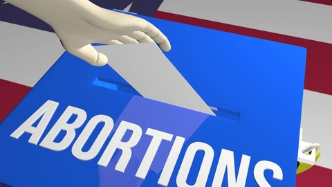 Abortions vote on ballot concept