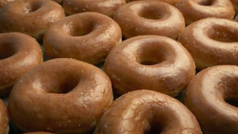 Lots Of Glazed Donuts