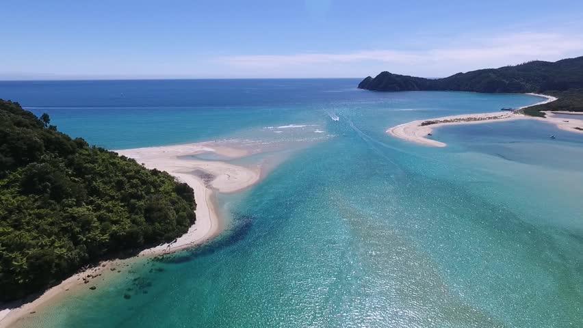 Abel Tasman aerial view #1012795463