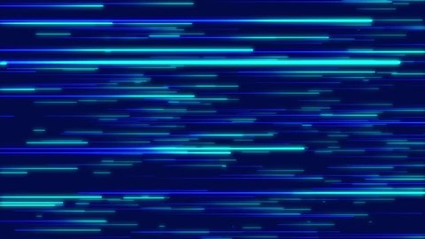 Blue abstract radial lines geometric background. Data flow. Optical fiber. Explosion star. Motion effect. Background