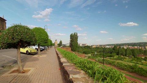 City of Pretoria from the Union Gardens