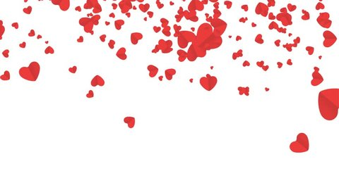 Falling hearts, Beautiful heart background for wedding, birthday, valentines day, birthday, invitation etc. .