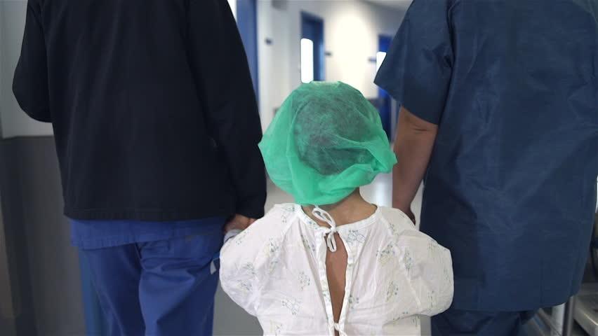 Hospitalized child walking | Shutterstock HD Video #1013189033