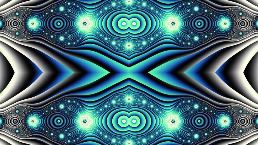 Transforming abstract futuristic background.