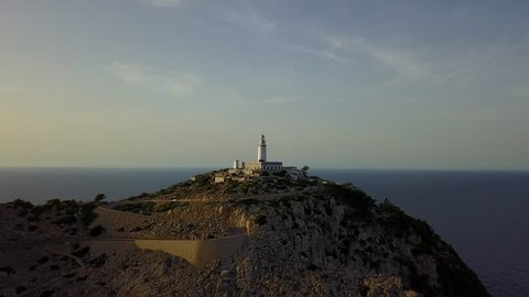 Drone Formentor Lighthouse Mallorca