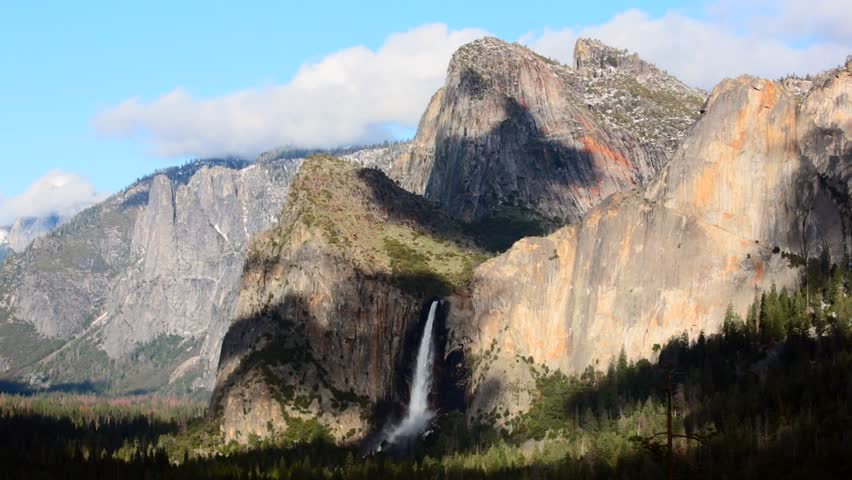 Beautiful Yosemite National Park landscapes, California   Shutterstock HD Video #1013641223