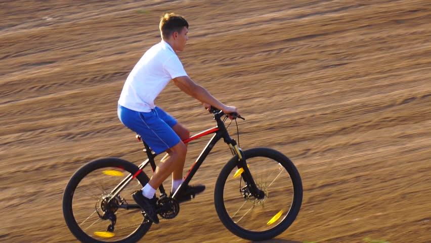 Bike sport mountain bike ride | Shutterstock HD Video #1013666993
