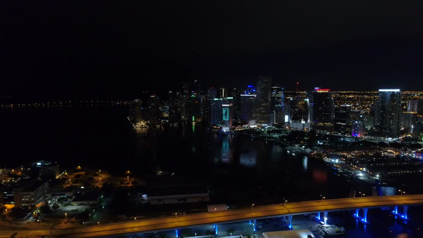 Miami the city that never sleeps | Shutterstock HD Video #1013690933