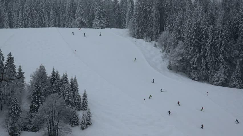 Silberwiesen ski lift at Feldberg Pass, South Black Forest, Schwarzwald, Baden-Wurttemberg, Germany, Europe