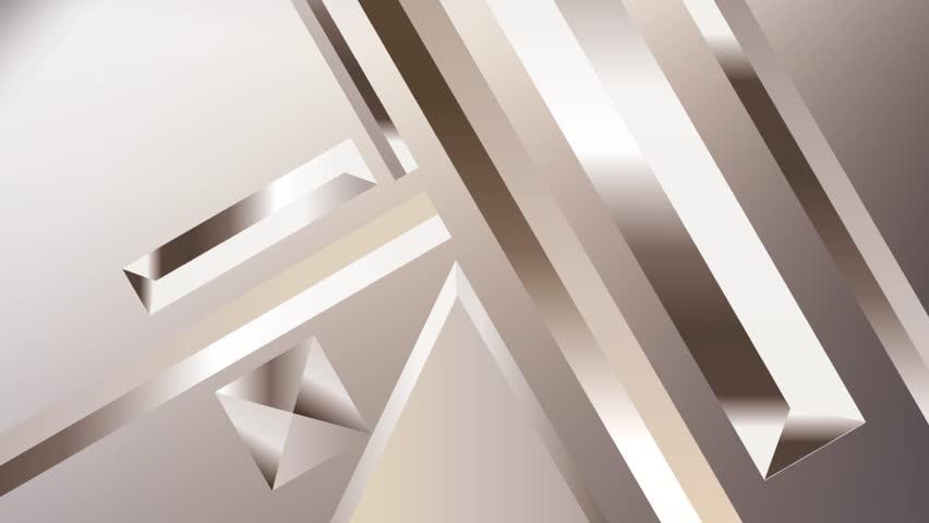 Metal texture gradients animation. Modern abstract metal texture gradient shapes composition. Golden geometric figures. Minimal Vector cover video. Futuristic design. stock footage.   Shutterstock HD Video #1013858093