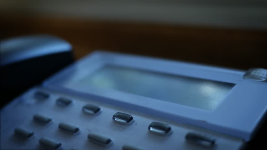 Generic number calling message on modern business landline system