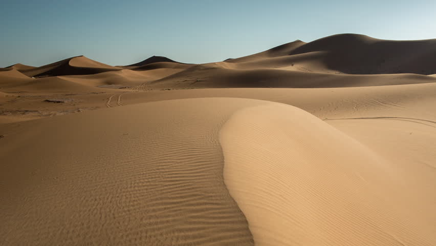 The amazing Erg chebbi dunes in the sahara desert, morocco   Shutterstock HD Video #10140002