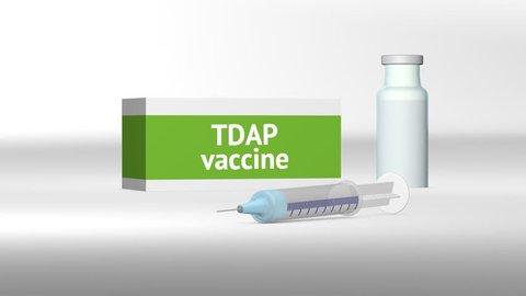 Tdap vaccine medical treatment