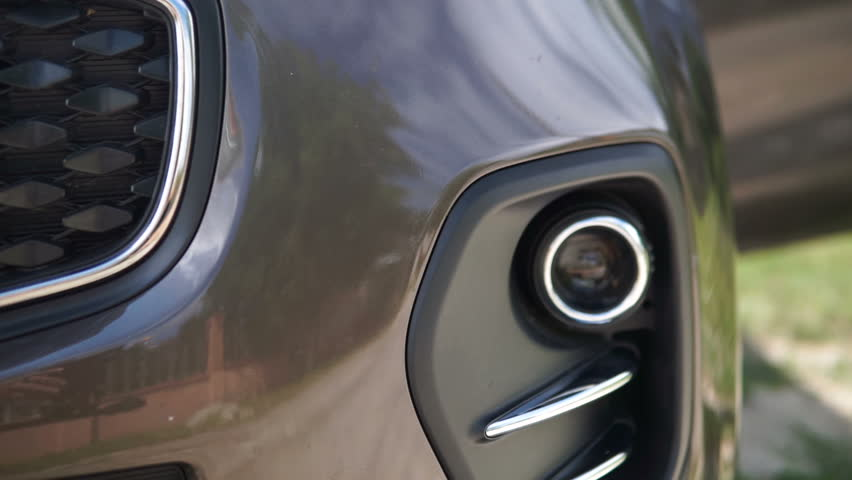 Front grill of a car. Modrn car.