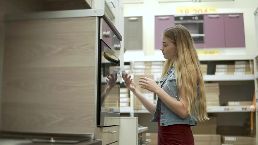 Young Woman Wants To Purchase Stock Footage Video 100 Royalty Free