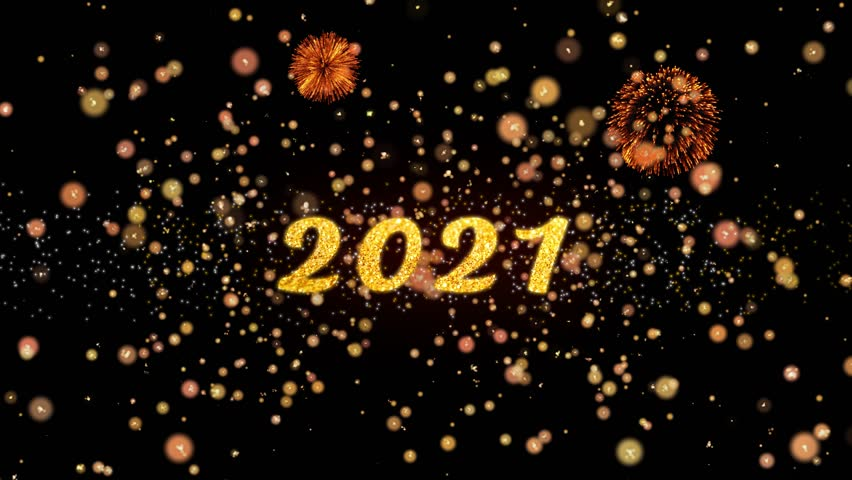2021 Abstract Particles and Fireworks Stock Footage Video ...