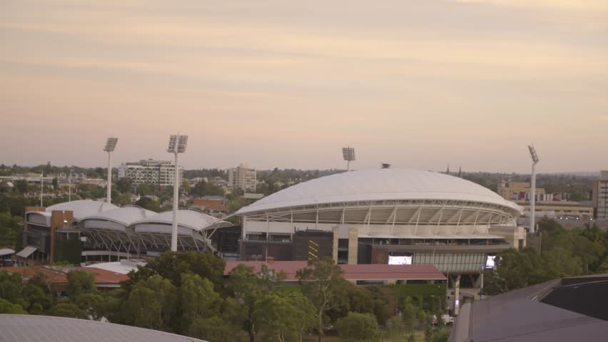 An Elevated View Of Adelaide Oval