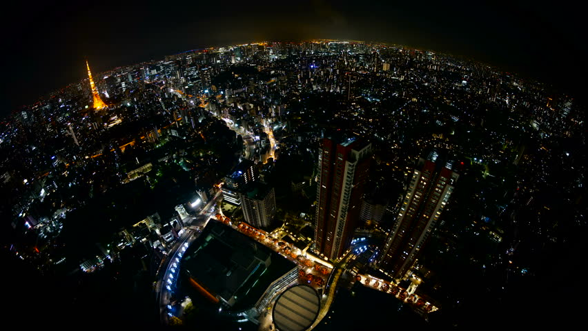 Tokyo aerial photography · time lapse · 4K   Shutterstock HD Video #1014821663