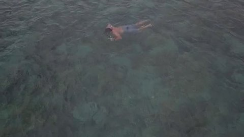 Snorkeling in Noumea, New Caledonia holiday.