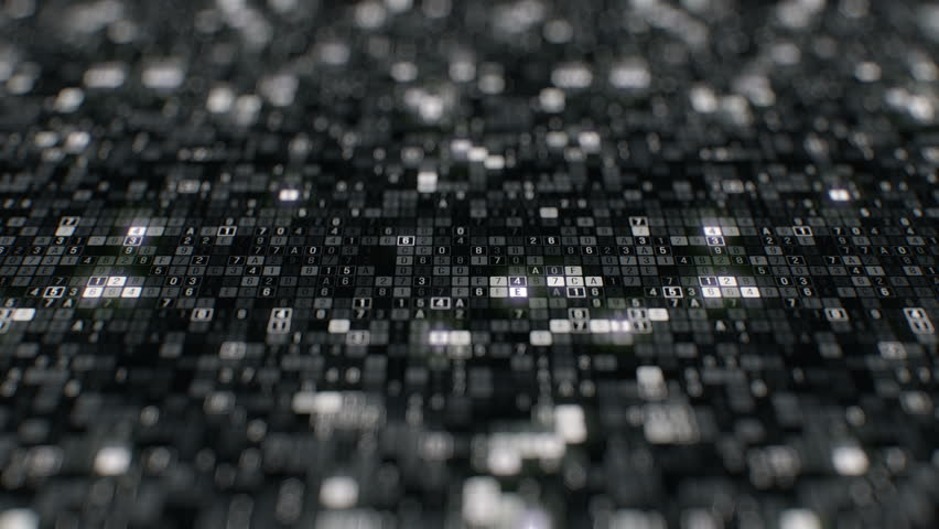 Encryption of visualization digital big data generated by artificial intelligence programming and computing information in secure cloud storage black white abstract dolly shot seamless loop animation | Shutterstock HD Video #1014902893