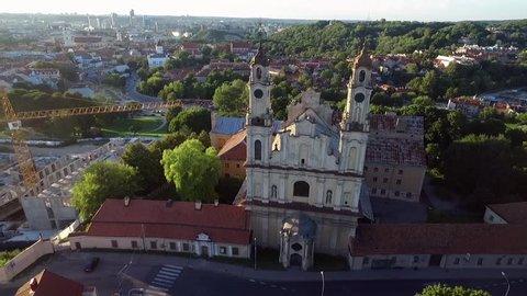 Catholic church of the Ascension in Vilnius.