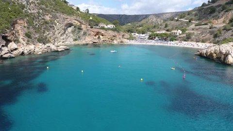 Alicante Javea Cala Granadella Drone Footage