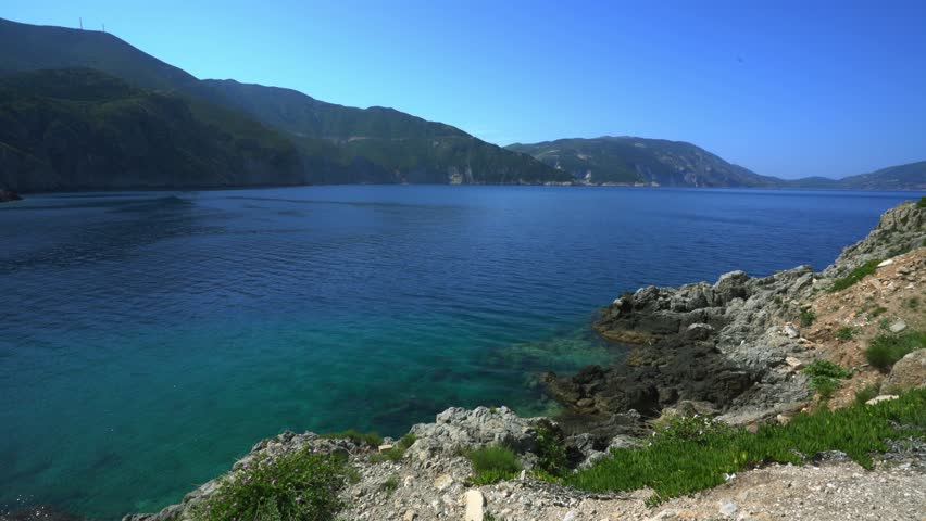 Kefalonia Island Beaches and Landscapes all around Greece | Shutterstock HD Video #1015292323