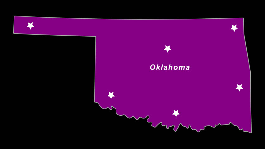 Purple State Map.4k00 07oklahoma As Purple State Election Map Animated Alpha