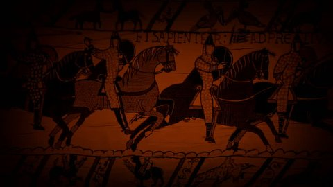 Bayeux Tapestry In Candlelight