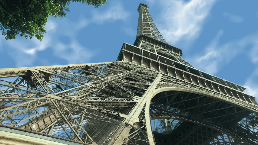 Timelapse Eiffel Tower, Paris, France | Shutterstock HD Video #1015652293