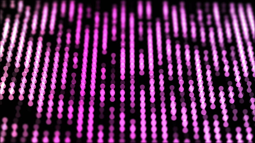 Dots moving down in a row, abstract colorful composition closeup view, loop able 4k horizontal video background | Shutterstock HD Video #1015749253
