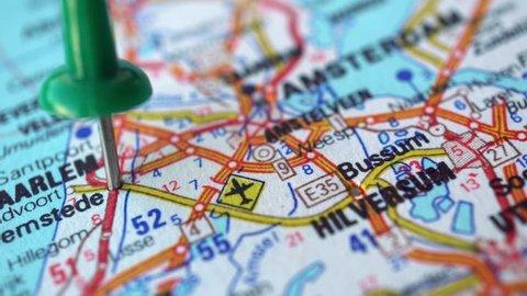Haarlem Map Stock Video Footage - 4K and HD Video Clips | Shutterstock