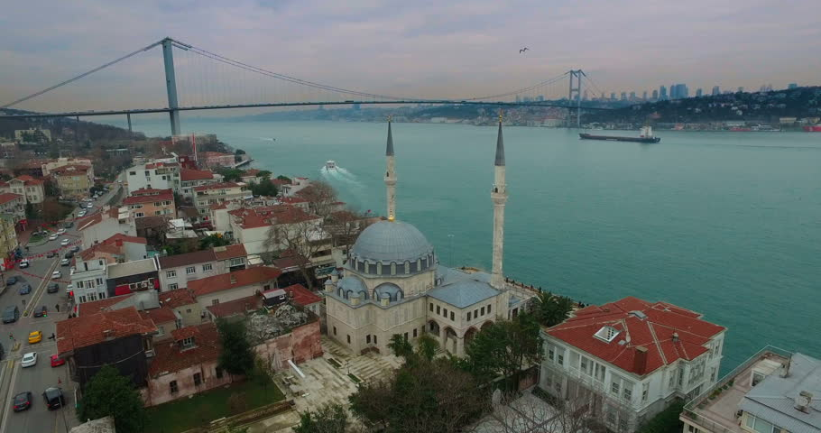Istanbul from Beylerbeyi with drone.