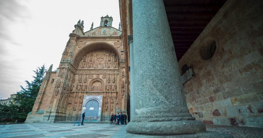 Timelapse Convent of San Estaban Salamanca, Dominicos