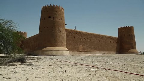 Al Zubara Fort or Al Zubarah Fort - historic Qatari military fortress built in the time of Sheikh Abdullah bin Jassim Al Thani in 1938, Qatar, Persian Gulf, Arabian Peninsula