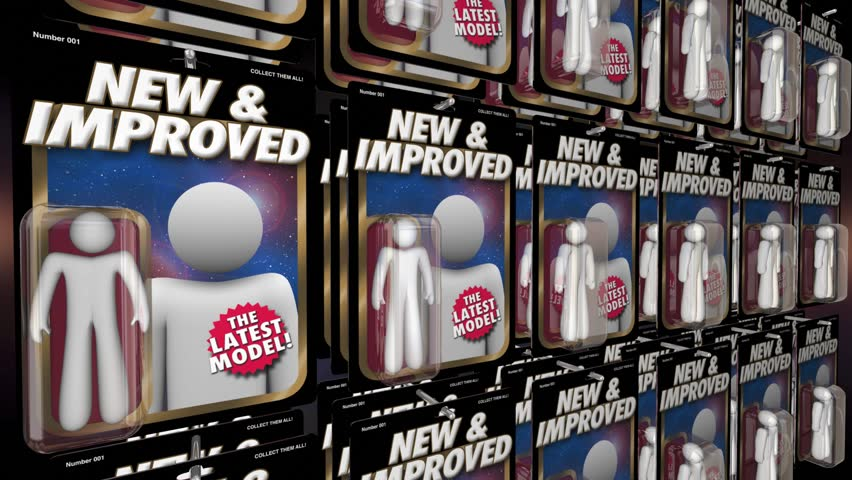 New and Improved Better Latest Model Action Figure 3d Animation | Shutterstock HD Video #1016056903