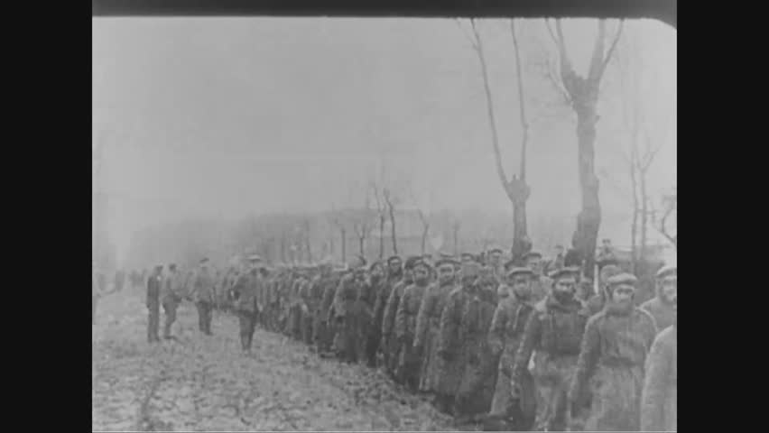 CIRCA 1910s - Austrians recapture Lemberg.
