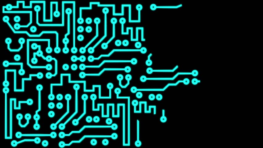 pcb printed circuit board, electronic stock footage video (100pcb printed circuit board, electronic circuit chip