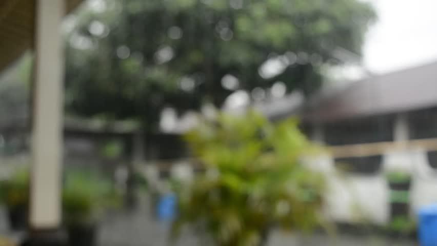 Tamansari yogyakarta and rain   Shutterstock HD Video #1016930323
