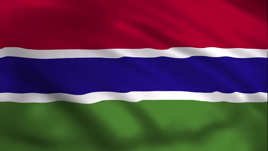 Gambia Country Flag