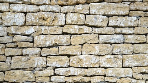 Texture of a stone wall.