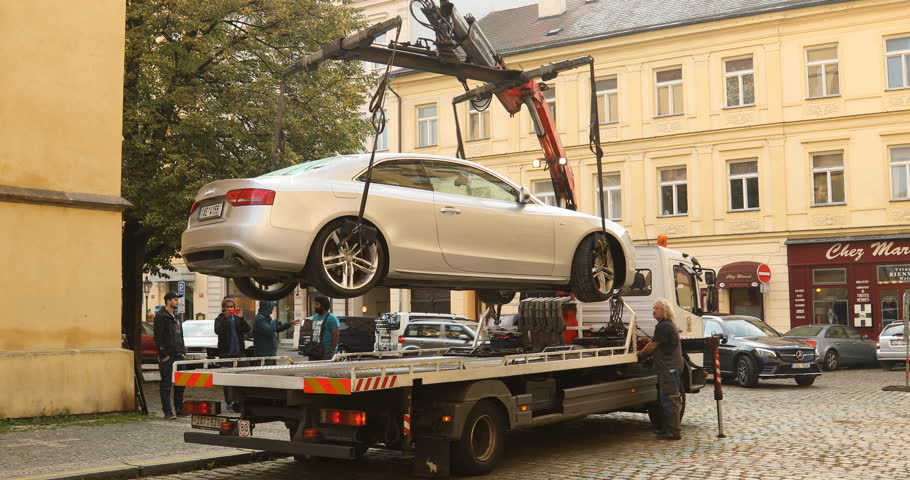 Image result for audi a5 getting towed