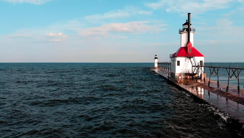 St Joseph, Michigan United States Stock Footage Video (100% Royalty-free)  1017368953 | Shutterstock