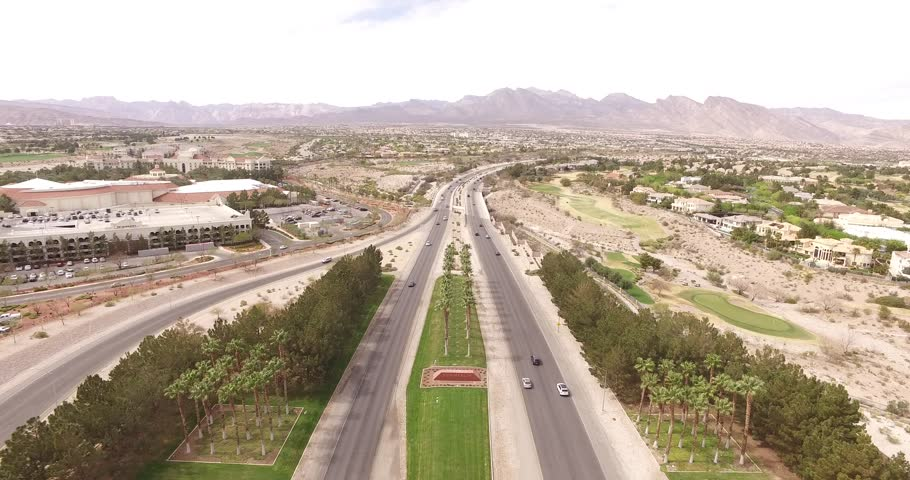 Summerlin Aerial Footage, Las Vegas | Shutterstock HD Video #1017446833